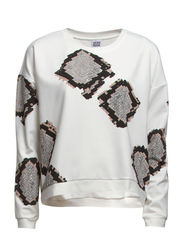 WP - VMREPTILE PLACEMENT L/S SWEAT 13 - Snow White