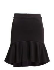 WP - VMSCUBA PEPLUM SHORT SKIRT 14 - Black