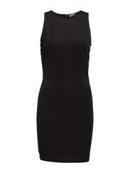 VMSTELLA S/L SHORT DRESS BLUE - Black