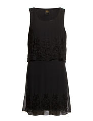 NANA SL SHORT DRESS - Black