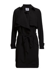 VMFAME 3/4 TRENCHCOAT - Black