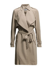 VMFAME 3/4 TRENCHCOAT - Stocking Beige