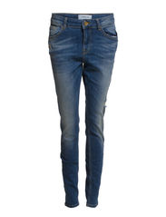 VMNEED LW BF DESTROY JEANS - FG541 - 32 - Light Blue Denim