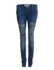 VMGAMBLERY LW SLIM DEST. J. - FG142 - 47 - Medium Blue Denim