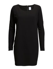 VMLEOJACK L/S SHORT DRESS IT - Black