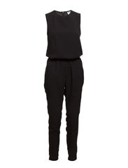 JUST EASY POLY JUMPSUIT - Black