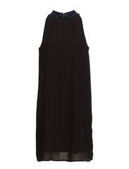 VMTRACK HALTERNECK SHORT DRESS - Black