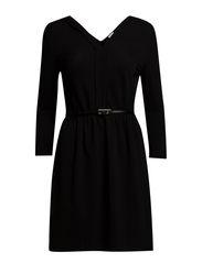 VMLAUREN 3/4 ABOVE KNEE DRESS IT - Black