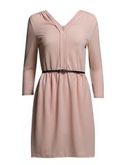 VMLAUREN 3/4 ABOVE KNEE DRESS IT - Peach Whip