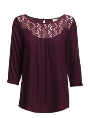 VMBETTY LACE 3/4 LONG TOP - NFS - Winetasting