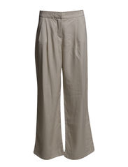 VMSAILOR NW WIDE PANTS - Oatmeal
