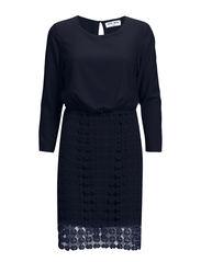 VMTRIO 7/8 SHORT DRESS - Black Iris