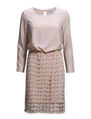 VMTRIO 7/8 SHORT DRESS - Peach Whip
