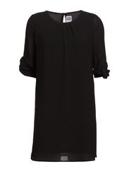 VMALBERTE 3/4 FOLD- UP TUNIC - NFS - Black