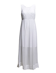 VMGRACE SL ANCLE DRESS - Bright White