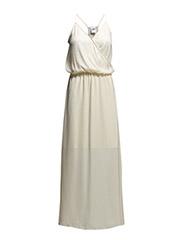VMFARAH SL LONG DRESS - Antique White