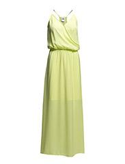 VMFARAH SL LONG DRESS - Sunny Lime