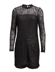 VMGRAM LS PLAYSUIT - Asphalt