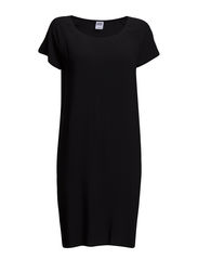 VMBOCA SS SHORT DRESS - Black
