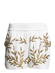 VMLEOLA BEAD NW SHORTS - Bright White