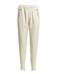 VMINDI LW LOOSE IN PANTS - Oatmeal