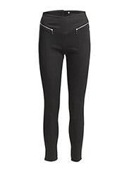 SUPER HOT HW GELLER ANKLE PANTS - Black