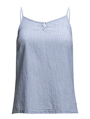 VMLONE SINGLET TOP BOX BLUE - Grapemist