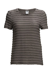 VMCAMIL SS TOP - Pewter