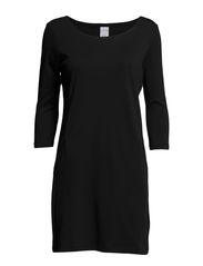 VMLIVA SHAN 3/4 SHORT DRESS GA MIX IT - Black