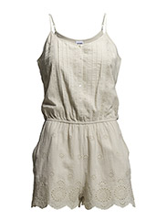 VMANNIE STRAP PLAYSUIT - Oatmeal