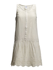 VMANNIE SL SHORT DRESS - Oatmeal