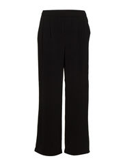 VMGLOBE NW LOOSE WIDE PANTS - Black