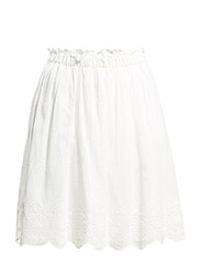 VMANNIE HW SHORT SKIRT WITH POL. LINING - Snow White