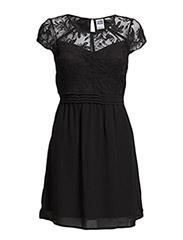 WP - VMOKILA SL SHORT DRESS - Black
