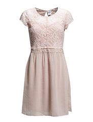 WP - VMOKILA SL SHORT DRESS - Peach Whip