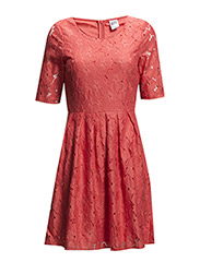 WP - VMBILLIE 2/4  SHORT DRESS 4 - Porcelain Rose