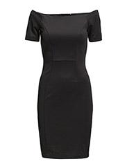 VMFIFI SS ABOVE KNEE  DRESS - Black