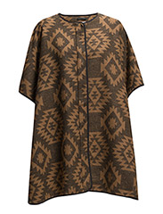 VMSNOW 3/4 CAPE DNM - Tobacco Brown