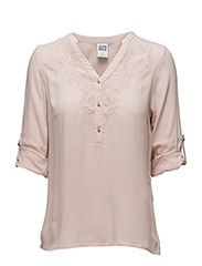 VMNEWLY MIGI LACE 3/4 FOLD-UP TOP - NFS - Peach Whip