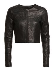 Very by Vero Moda TAMARA LEATHER JACKET - EXP