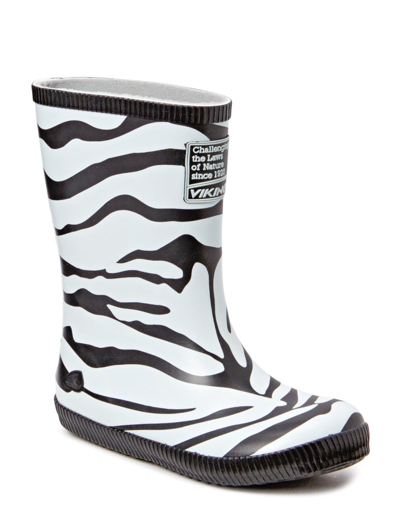 Classic Indie Zebra Viking Gummistøvler til Børn i