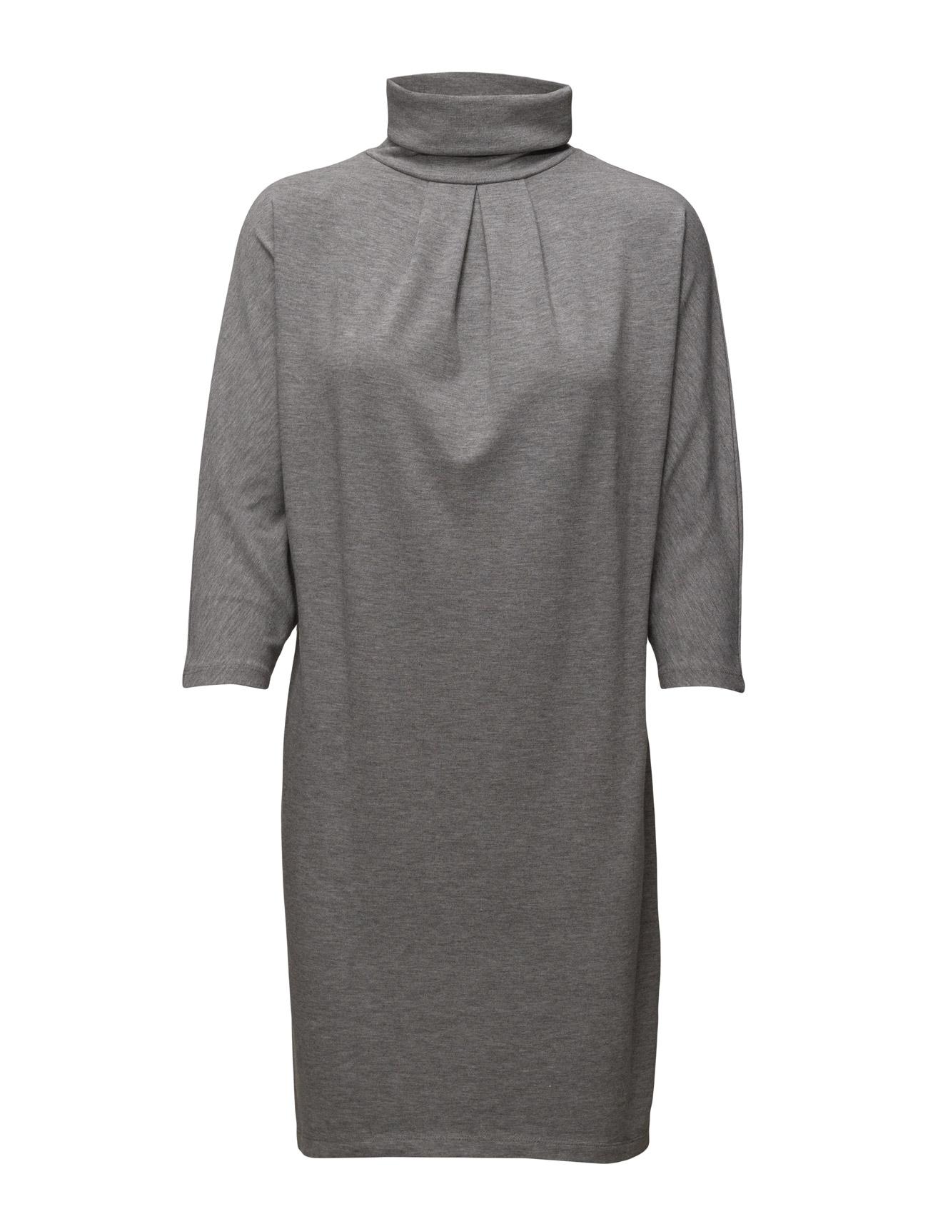 Vitristan Dress Vila Knælange & mellemlange til Damer i Medium Grey Melange