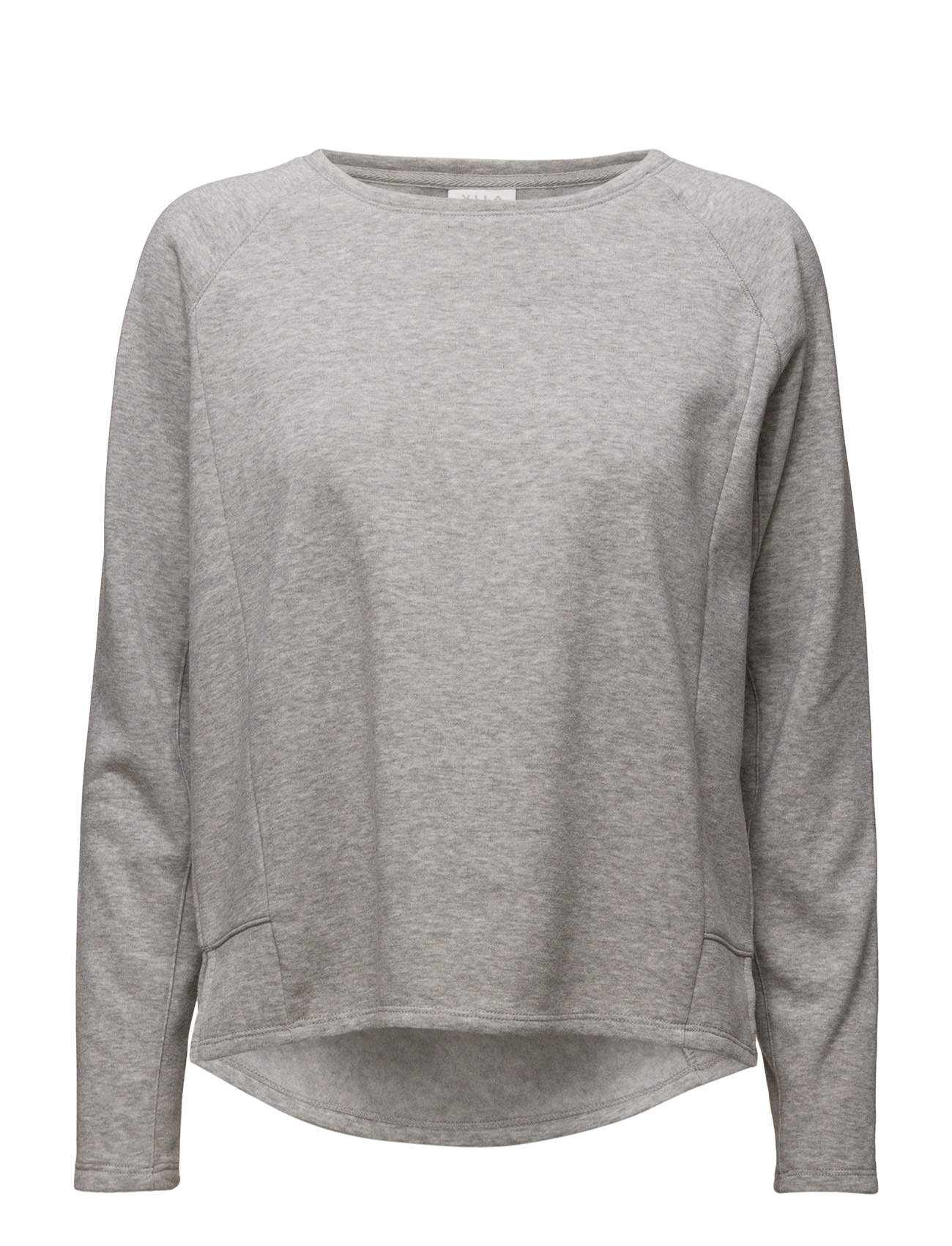 Viclira L/S Top Vila Langærmede til Damer i Light Grey Melange