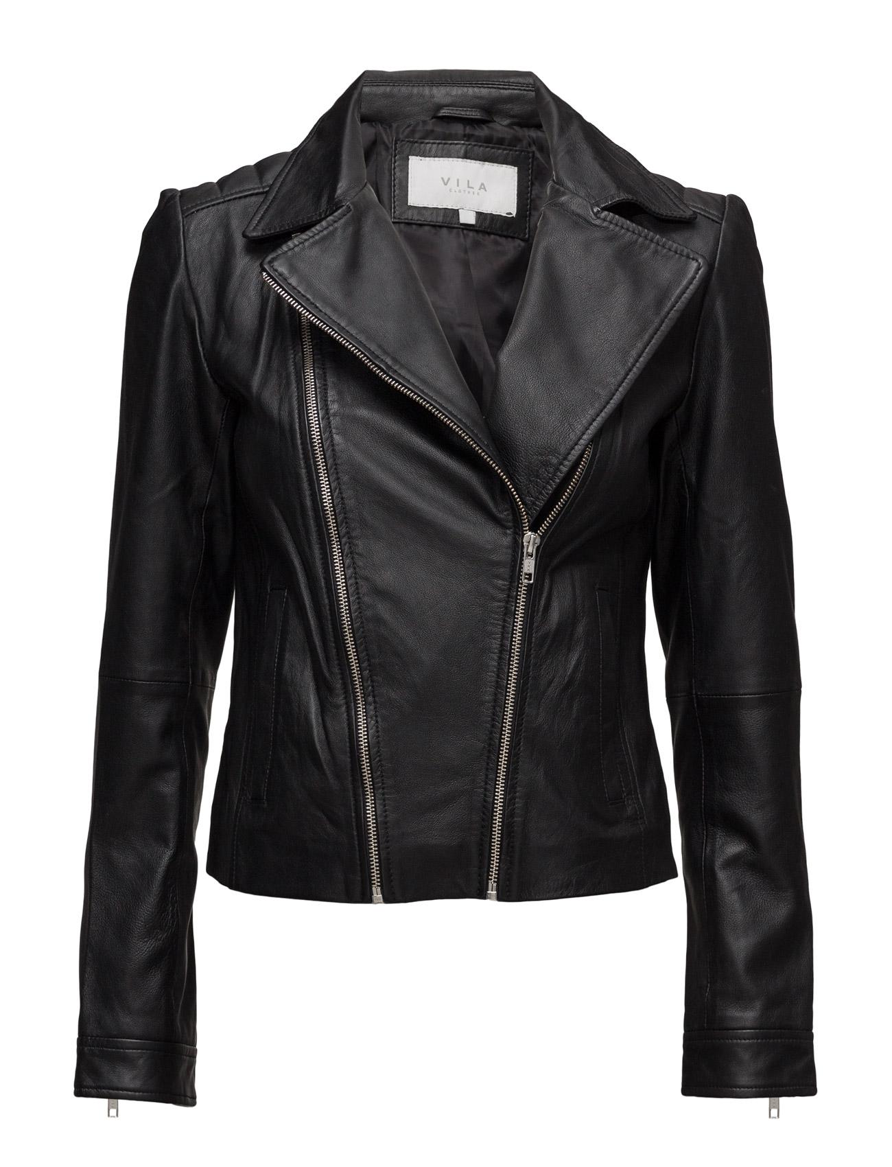 Visatness Leather Jacket Vila Jakker til Damer i