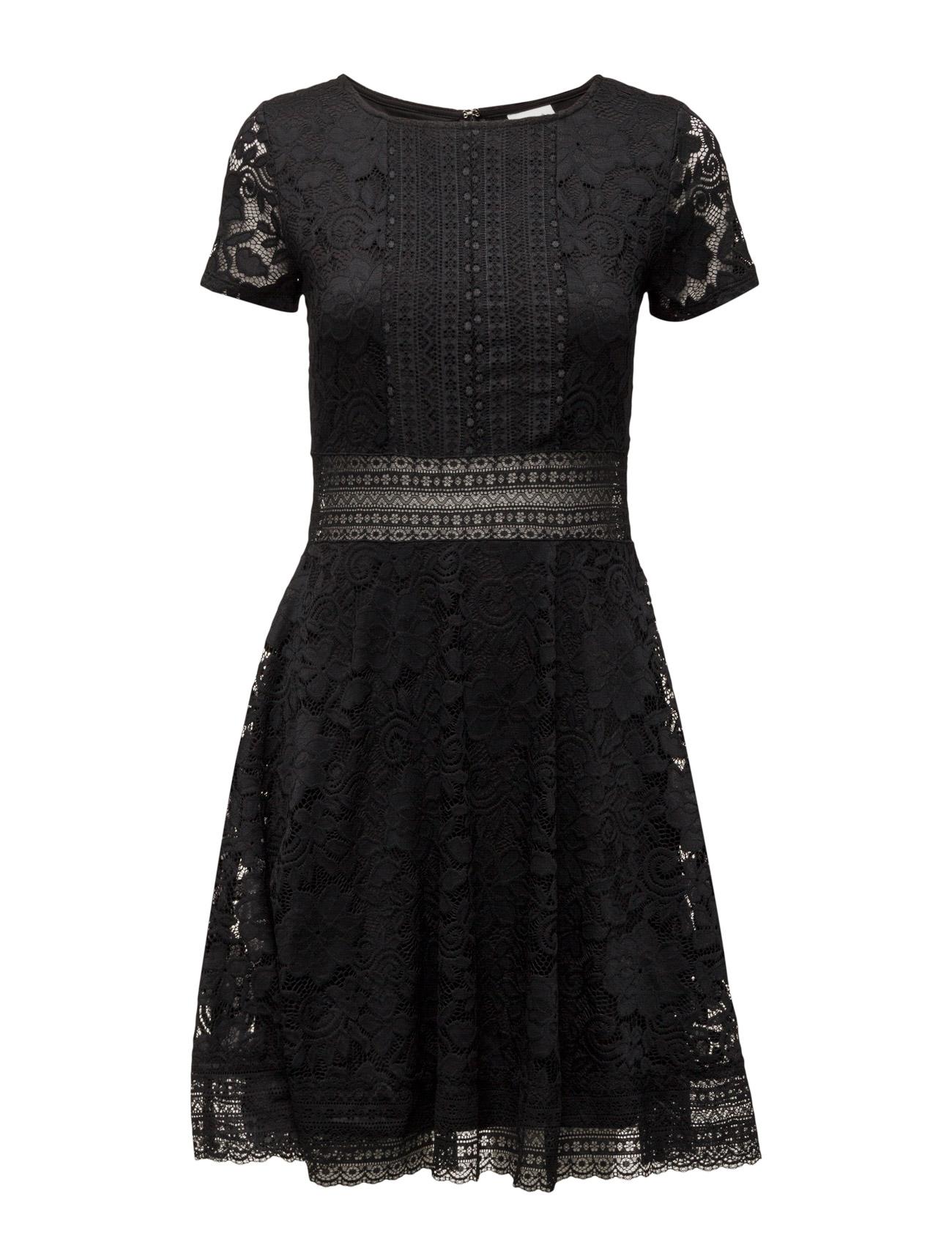 Vinorth S/S Dress Vila Korte kjoler til Kvinder i Sort