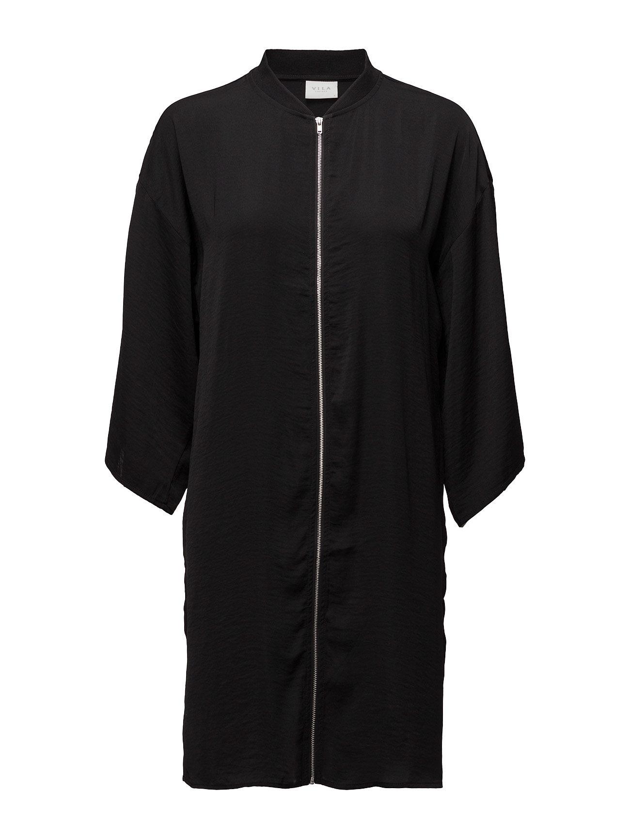 Vimelli 3/4 Sleeve Tunic Vila Frakker til Kvinder i Sort