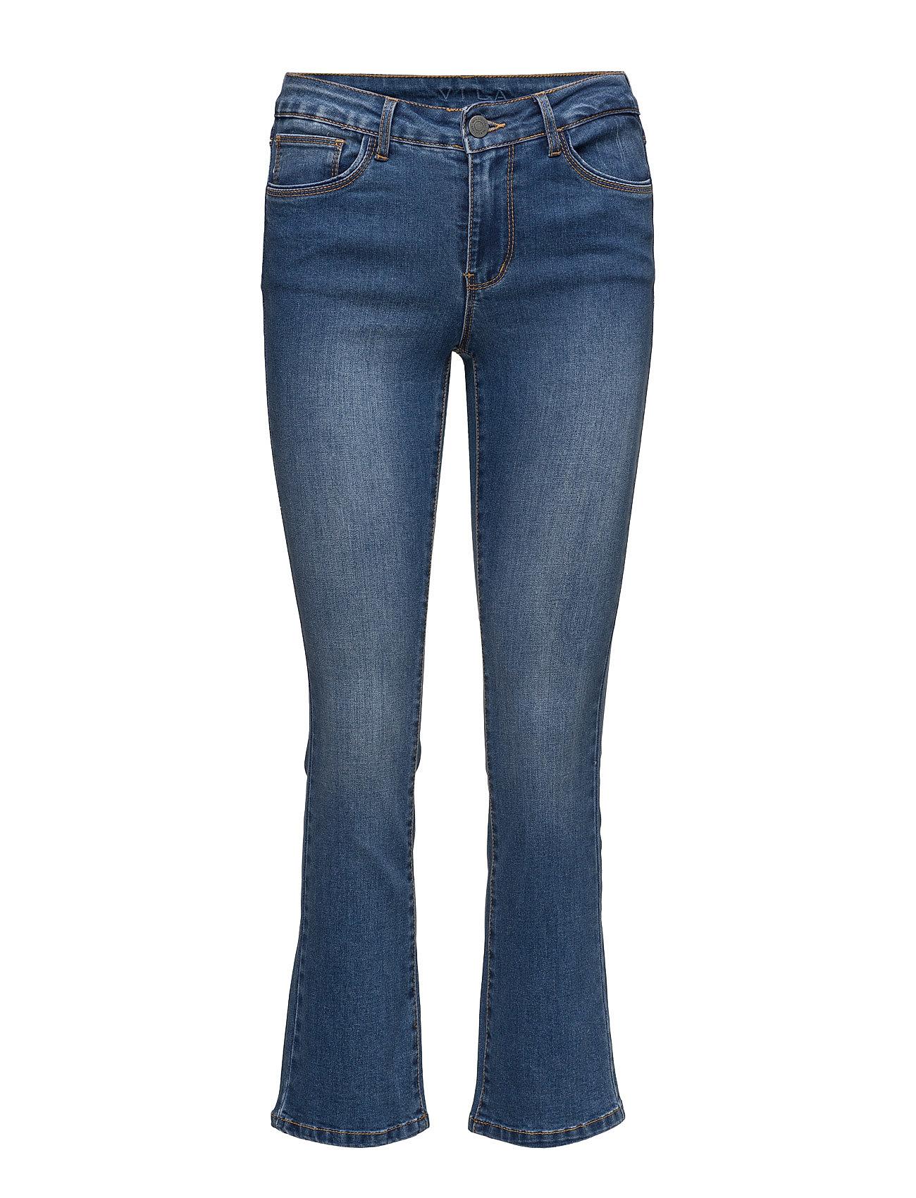 Vibarcher Rw 5p Microflared Jeans Vila Jeans til Kvinder i