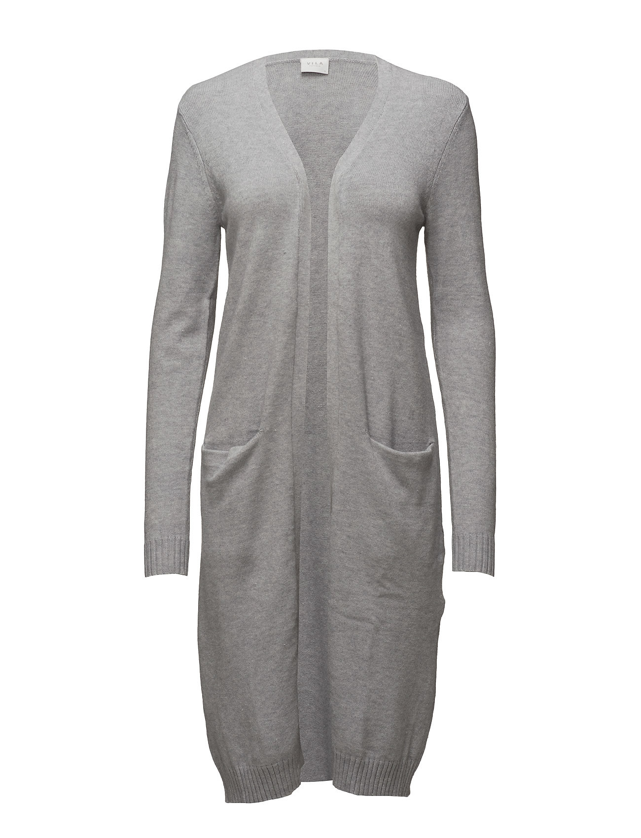 Viril L/s Long Knit Cardigan-noos (Light Grey Melange) (£30 ...