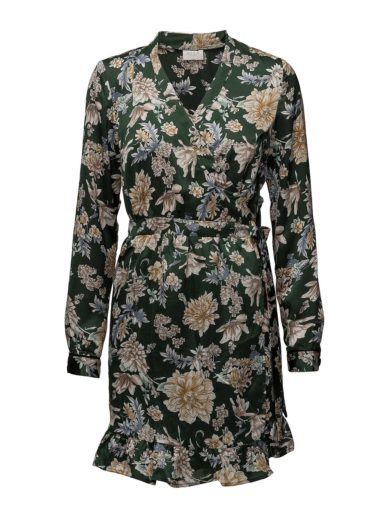 Vibarima L/S Wrap Dress/1