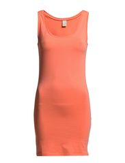 Officiel long tank top new - WARM CORAL